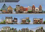 ACRG New York Houses - Concept Art