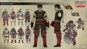 ACC China Ming Dynasty Seeker Concept Sketches