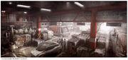 Hideout Warehouse Concept