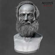 Testa scultura John Elliotson 1