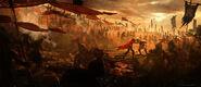 Cesare and Ezio Final Battle Concept