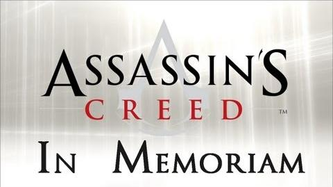 Assassins' Creed In Memoriam HD