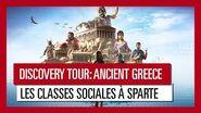 Discovery Tour- Ancient Greece – Les classes sociales à Sparte