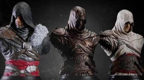 Assassin's Creed busts Altair & Ezio launch trailer NL