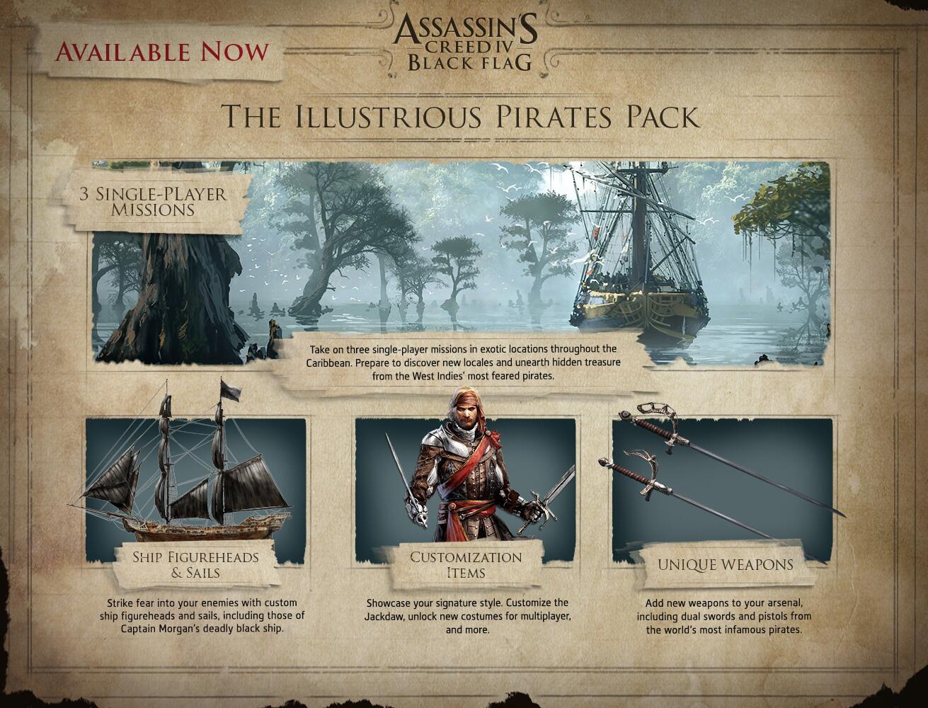 Illustrious Pirates Pack