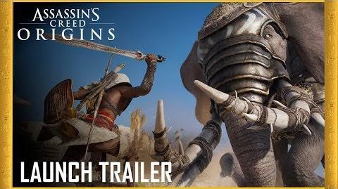 Assassin's Creed Origins Launch Trailer Legend of the Assassin Ubisoft US