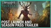 Assassin's Creed Valhalla Post Launch & Season Pass Trailer Ubisoft NA