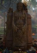 ACV Freyja statue