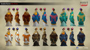 ACC China Zhang Qijie Color Variants