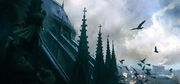 ACU Notre-Dame Roof - Concept Art