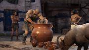 The Big Break - Cyclops torturing Barnabas - Assassins Creed Odyssey