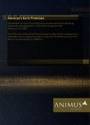 ACO Documentation - Animus Guide - Early Prototype