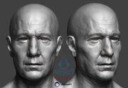 Charles Dorian - Head Sculpts