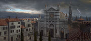 ACID Basilica of Santa Croce Storm Concept