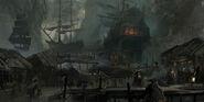 ACIV Ocracocke Island Pirates concept