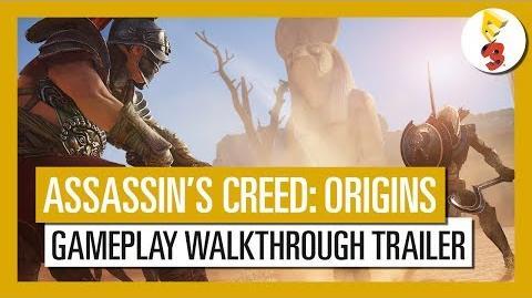 Assassin's Creed Origins E3 2017 Gameplay Walkthrough Trailer