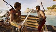 ACOD Combat Kassandra Melanthos 1