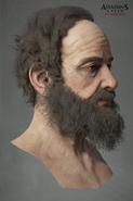 Modello testa John Elliotson 2