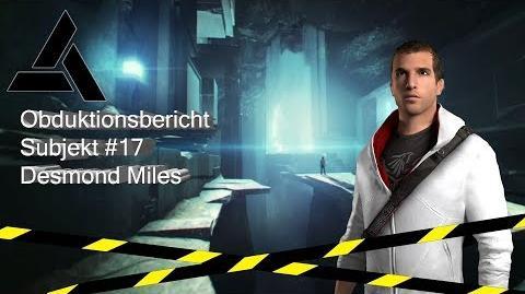 Desmond Miles Obduktionsbericht (Assassin's Creed IV Black Flag)