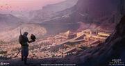 ACO Temple of Hatshepsut - Concept Art