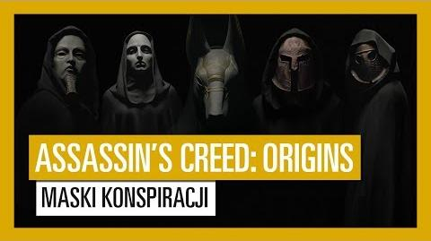 Assassin's Creed Origins- maski konspiracji