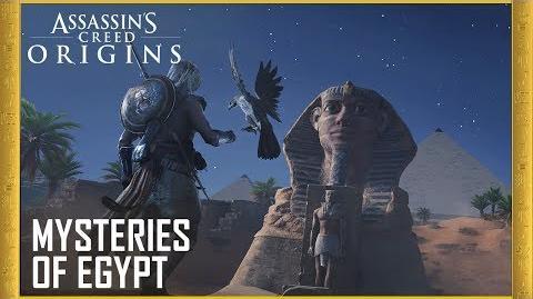 Assassin's Creed Origins E3 2017 Mysteries of Egypt Trailer Ubisoft US