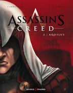 Assassin's Creed fumetto francese cover Aquilus