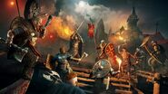 ACV Bataille vikings anglais