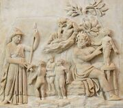 Creation Prometheus Louvre