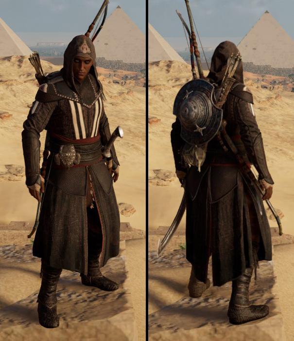 Tenues d'Assassin's Creed: Origins