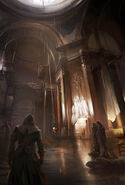 ACUnity chiesa interno concept art
