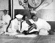 Nehru, Gandhi and Patel 1946
