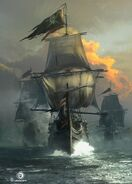 ACIV Navire Pirate concept