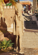 ACO Thebes Horus Statue