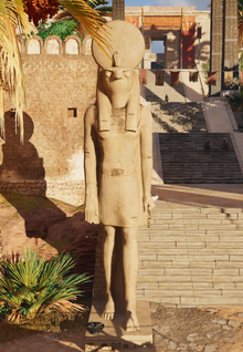 ACO Thebes Horus Statue.png