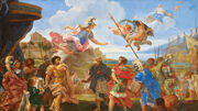 DTAG Duel between Agamemnon and Achilles - Giovanni Battista Gaulli
