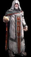 Altaïr anziano con la Mela