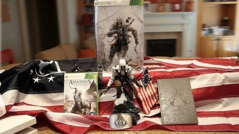 Assassin's Creed III Limited Edition unboxing