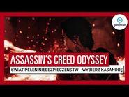 """Assassin's Creed Odyssey – Zwiastun """"Świat pełen niebezpieczeństw"""" z Gamescom 2018 – Kasandra"""