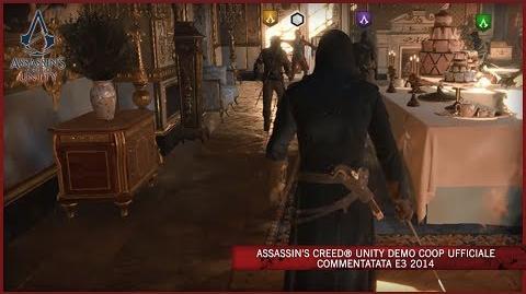 Assassin's Creed Unity Demo Coop Ufficiale Commentatata E3 2014 IT