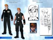 Behind Assassins Creed The Chain - Character design 1