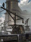 Dechambo Arsenal Docks Concept