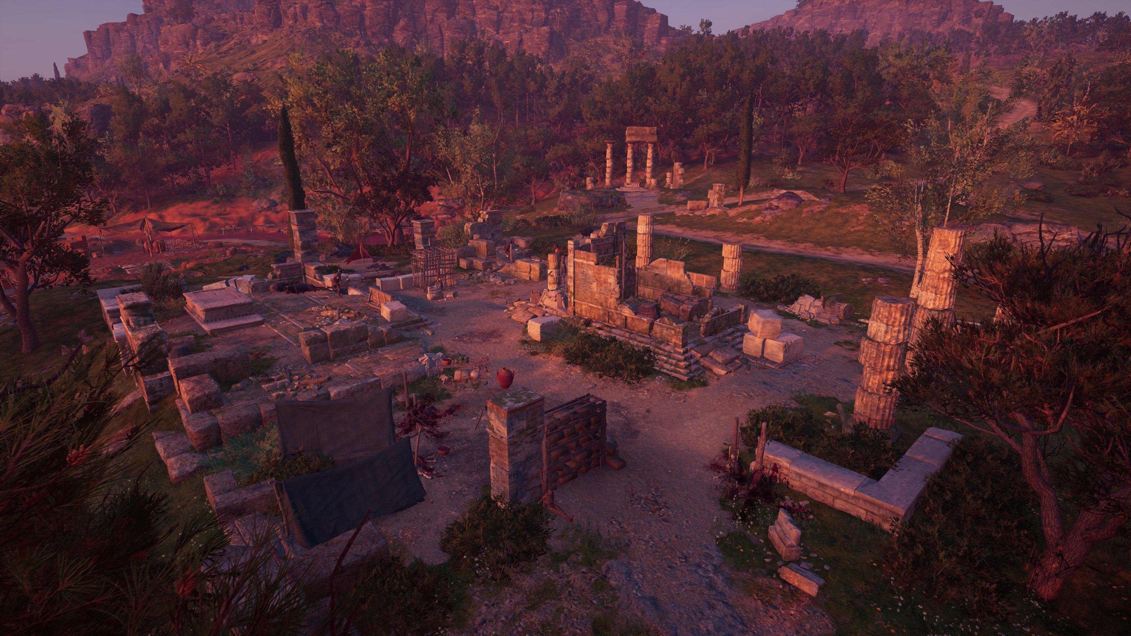Ruined Temple of Apollo, Korinthia