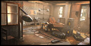 Assassins creed 2 animus room by viag