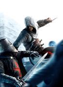 AC - Altair stabs Templar Knight