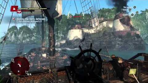 GamesCom Demo Naval & Fort Commented Walkthrough Assassin's Creed 4 Black Flag UK