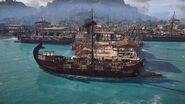 Adrestia docked