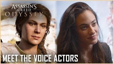 Assassin's Creed Odyssey Meet the Actors Behind Alexios and Kassandra Ubisoft NA