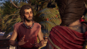 ACOD Throwing the Bet - Kassandra speaking to Aletes