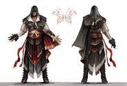 Concept art Armatura di Altaïr